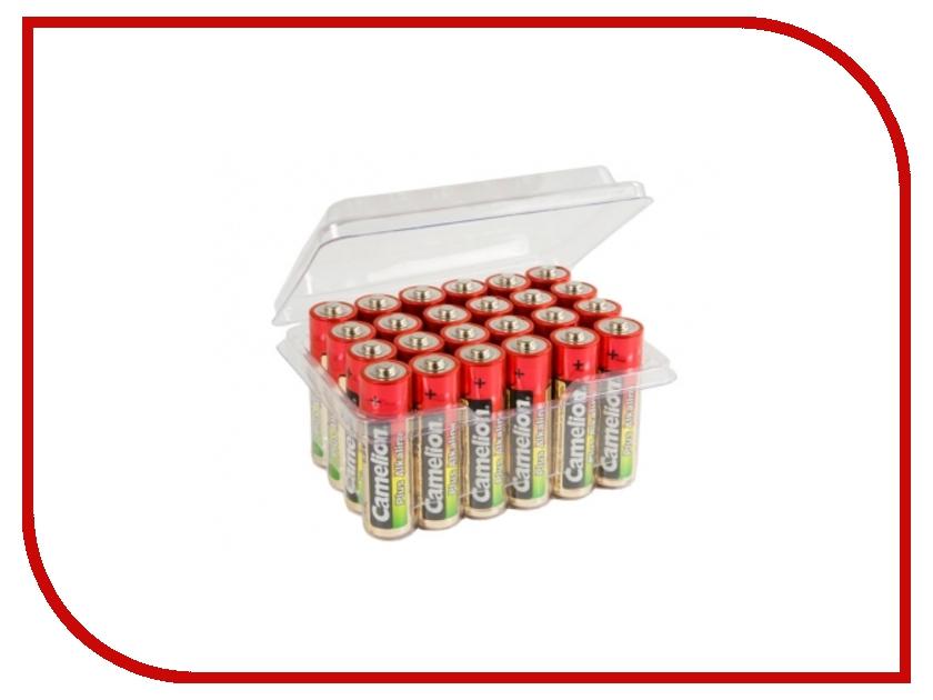 Батарейка AA - Camelion Alkaline Plus LR6 LR6-PB24 (24 штуки) батарейки samsung pleomax lr6 aa 10 шт