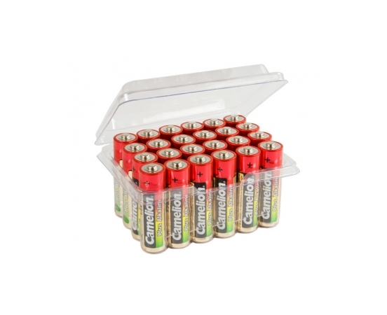 Батарейка AA - Camelion Alkaline Plus LR6 LR6-PB24 (24 штуки) батарейка aa perfeo lr6 4bl super alkaline 4 штуки