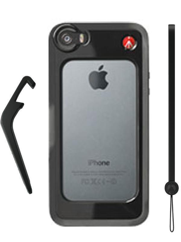 Аксессуар Чехол-бампер Manfrotto KLYP+ for iPhone 5 / 5S Black MCKLYP+5S-B
