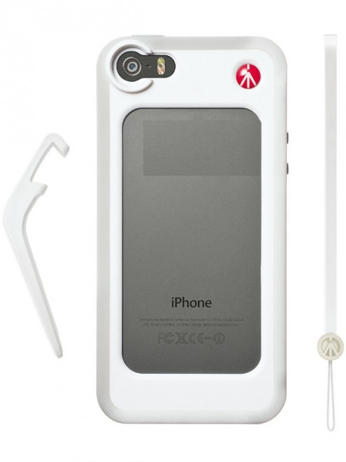 Аксессуар Чехол-бампер Manfrotto KLYP+ for iPhone 5 / 5S White MCKLYP+5S-W