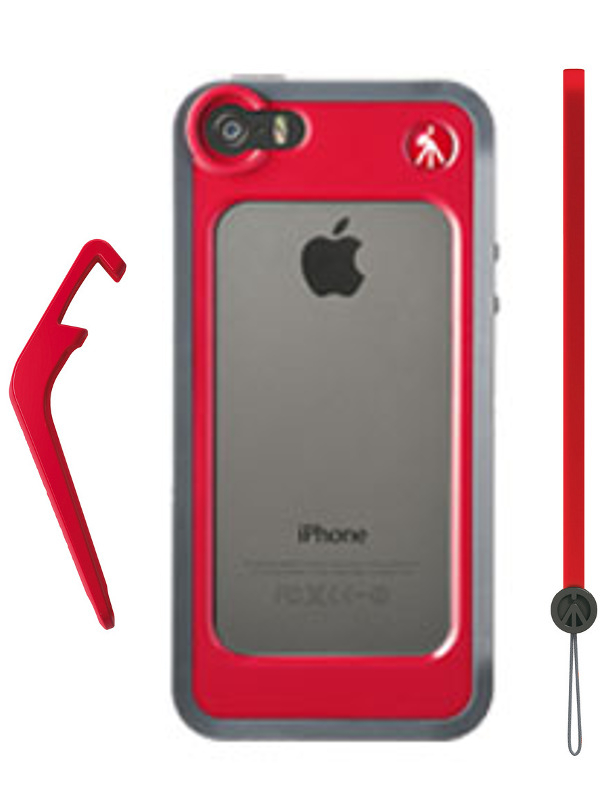 Аксессуар Чехол-бампер Manfrotto KLYP+ for iPhone 5 / 5S Red MCKLYP+5S-R