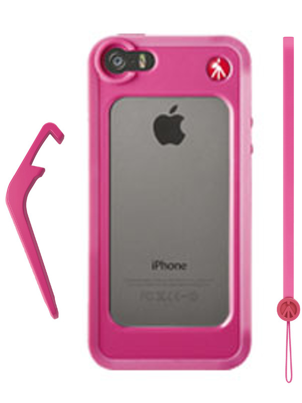 Аксессуар Чехол-бампер Manfrotto KLYP+ for iPhone 5 / 5S Pink MCKLYP+5S-P