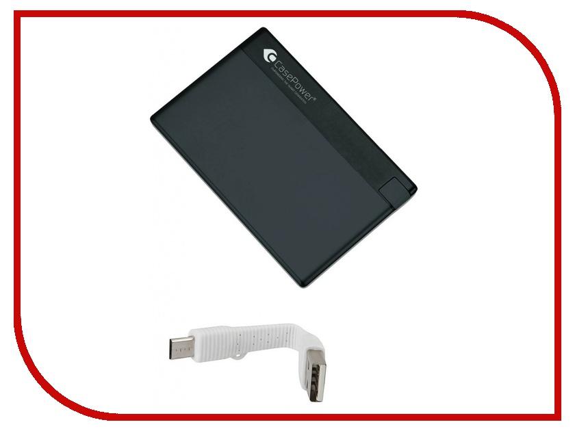 Аккумулятор CasePower A29 Credit Card Power Booster 800 mAh Black CASE-329-BLACK<br>
