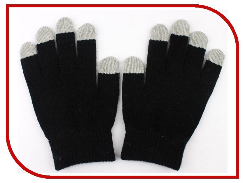 все цены на Теплые перчатки для сенсорных дисплеев GlobusGPS GL-SM1 р.UNI Black онлайн