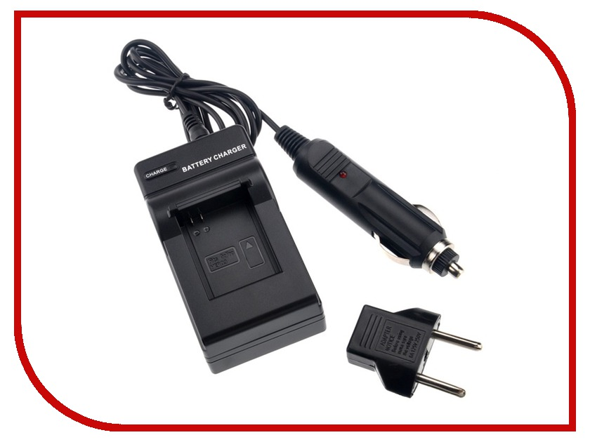Аксессуар Fujimi AHDBT-201/301 зарядное устройство сетевое + автомобильное для GoPro Hero3/3+