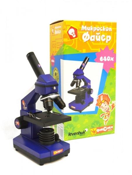 Микроскоп Levenhuk Фиксики Файер 59575 от Pleer