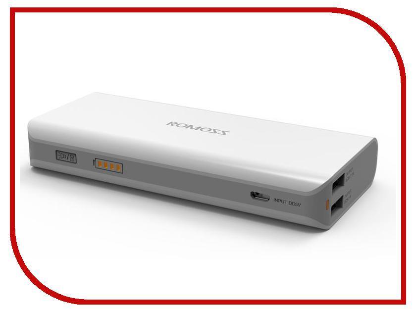 Аккумулятор ROMOSS Powerbank Sailing 4 10400 mAh<br>