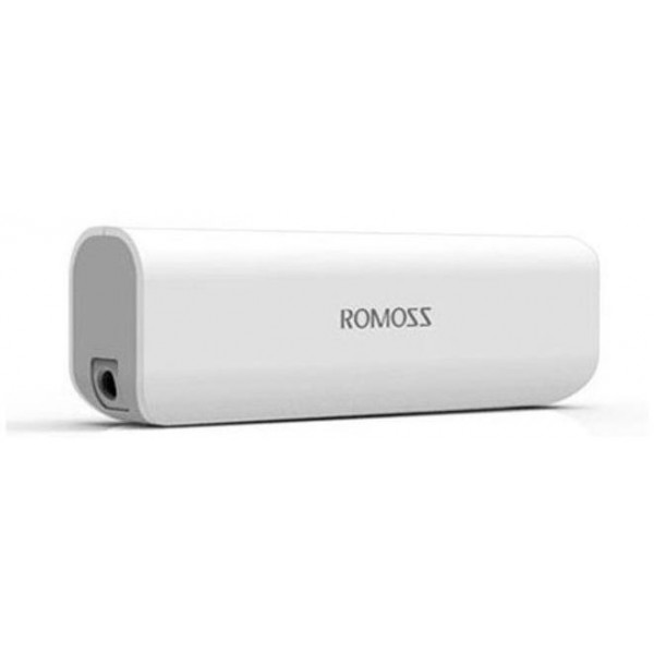 Аккумулятор ROMOSS Powerbank Sailing 1 2600 mAh White