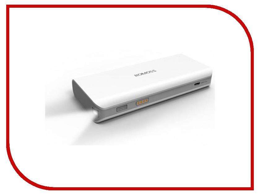 Аккумулятор ROMOSS Powerbank Sailing 2 5200 mAh White<br>