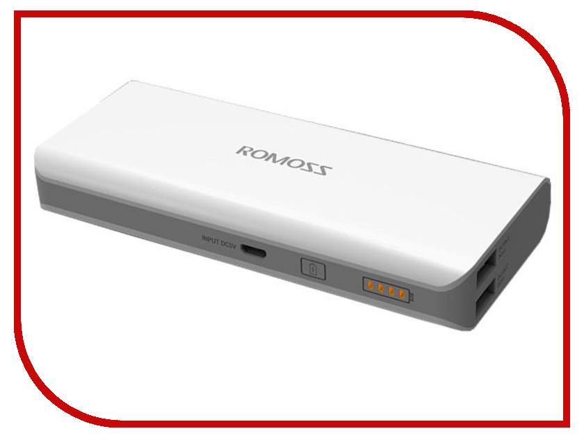 Аккумулятор ROMOSS Powerbank Solo 3 6000 mAh<br>
