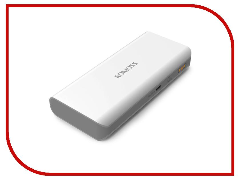 Аккумулятор ROMOSS Powerbank Solo 5 10000mAh original romoss polymos 10 air 10000mah dual usb li polymer power bank