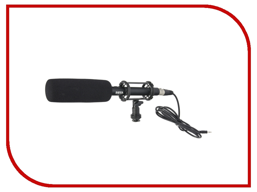 Микрофон Boya BY-PVM1000 boya by wm5 by wm6 camera wireless lavalier microphone recorder system for canon 6d 600d 5d2 5d3 nikon d800 sony dv camcorder