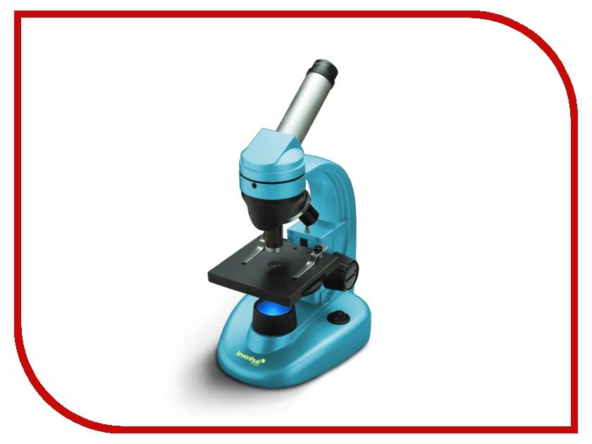 Монокулярный микроскоп Levenhuk Rainbow 50L Azure микроскоп levenhuk левенгук rainbow 50l plus amethyst аметист