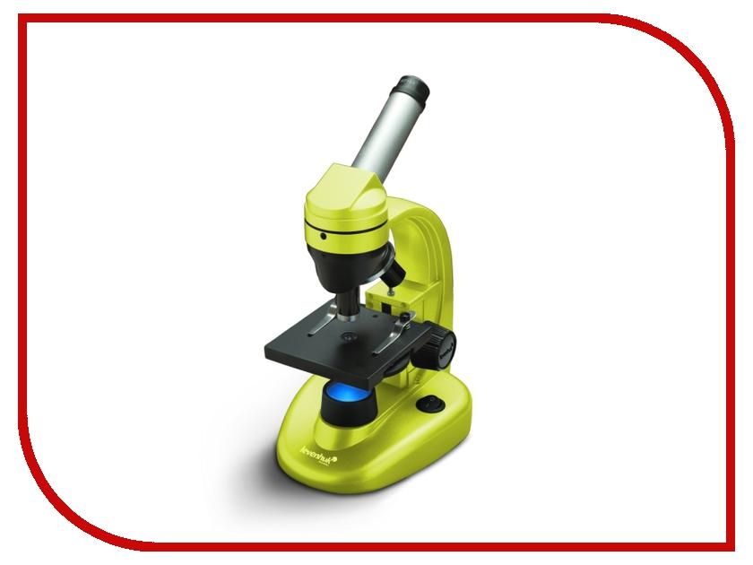 Монокулярный микроскоп Levenhuk Rainbow 50L Lime цифровой микроскоп levenhuk dtx 500 mobi 61023