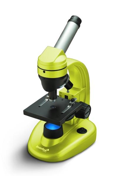 Микроскоп Levenhuk Rainbow 50L Lime от Pleer
