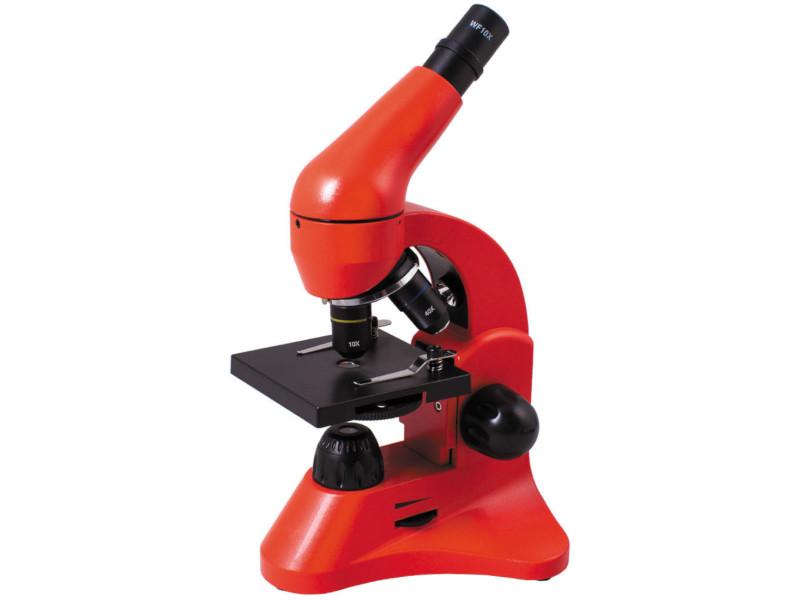 Микроскоп Levenhuk Rainbow 50L Orange микроскоп levenhuk rainbow 50l plus лазурь page 3