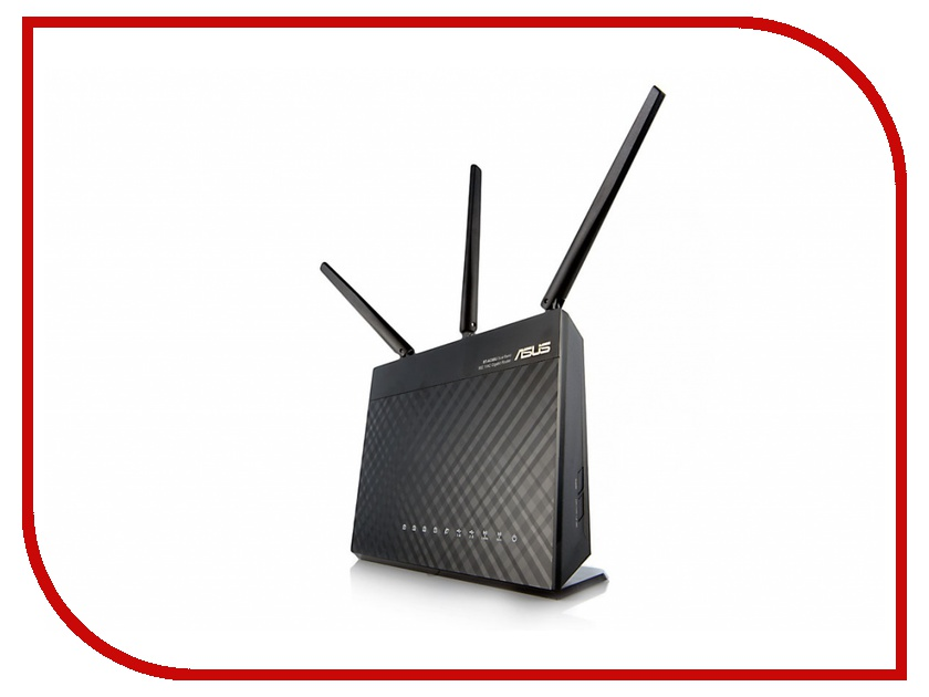 Wi-Fi роутер ASUS RT-AC68U wi fi роутер asus rt n66w
