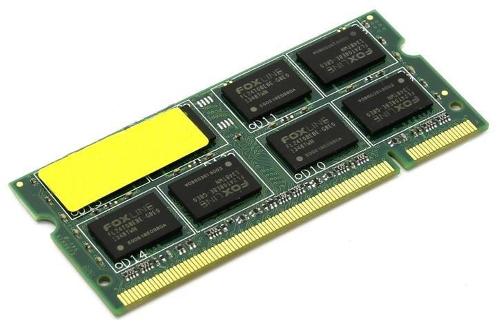 цена Модуль памяти Foxline DDR2 SO-DIMM 800MHz PC2-6400 CL5 - 2Gb FL800D2S5-2G онлайн в 2017 году