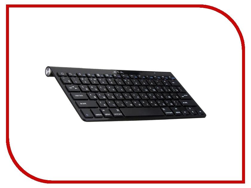 все цены на Клавиатура беспроводная Jet.A SlimLine K9 W Black онлайн