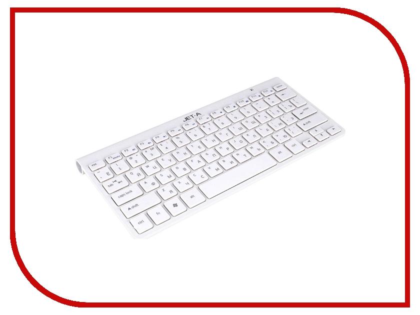 все цены на Клавиатура беспроводная Jet.A SlimLine K9 W White онлайн