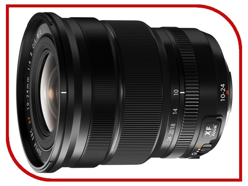 Объектив Fujifilm XF 10-24mm f/4 R OIS объектив fujifilm xf 55 200mm f 3 5 4 8 r lm ois