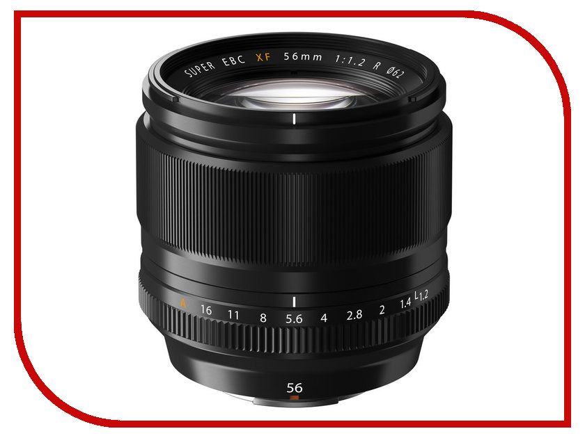 Объектив Fujifilm XF 56mm f/1.2 R объектив fujifilm xf 90mm f 2 r lm wr