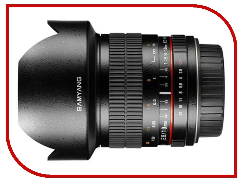 Объектив Samyang Sony / Minolta MF 10 mm F/2.8 ED AS NCS CS
