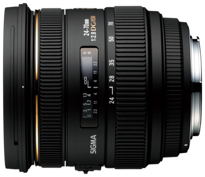 Объектив Sigma Sony / Minolta AF 24-70 mm F/2.8 EX IF DG HSM<br>
