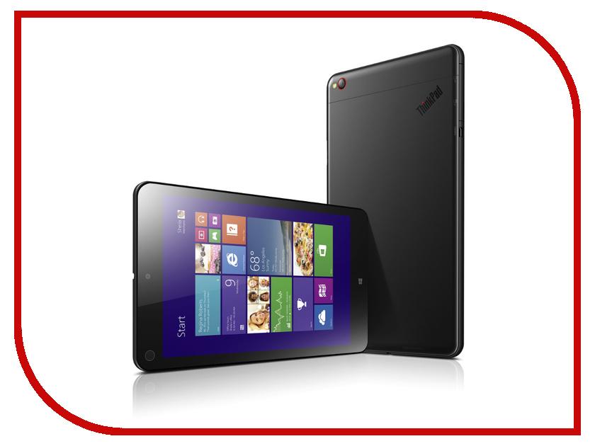 Планшет Lenovo ThinkPad Tablet 8 128Gb Black 20BN001RRT Intel Atom Z3770 1.46 GHz/2048Mb/128Gb/Wi-Fi/Bluetooth/Cam/8.3/1920x1200/Windows 8.1<br>