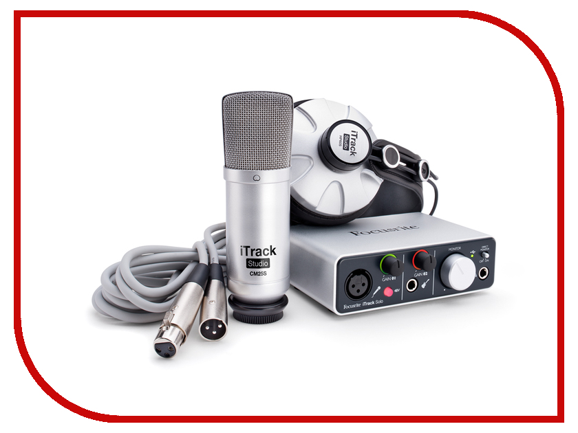 Комплект для звукозапсиси Focusrite iTrack Studio Lightning