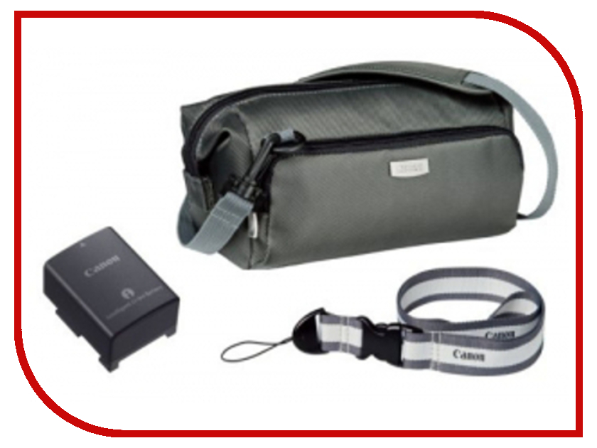 Сумка Canon DVK-804 Accessory Kit - набор аккумулятор BP-110, чехол для карт SD<br>