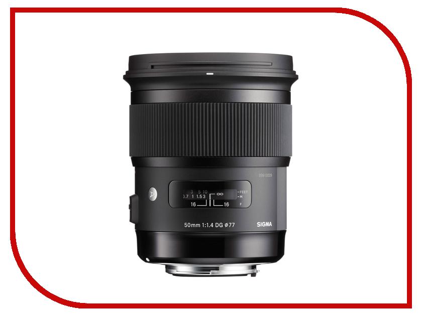 Объектив Sigma Nikon AF 50 mm F/1.4 DG HSM ART