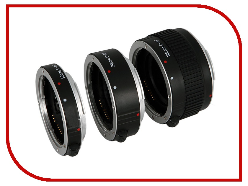 Удлинительное кольцо Flama FL-C68A AF Extension Tube Kit for Canon EF