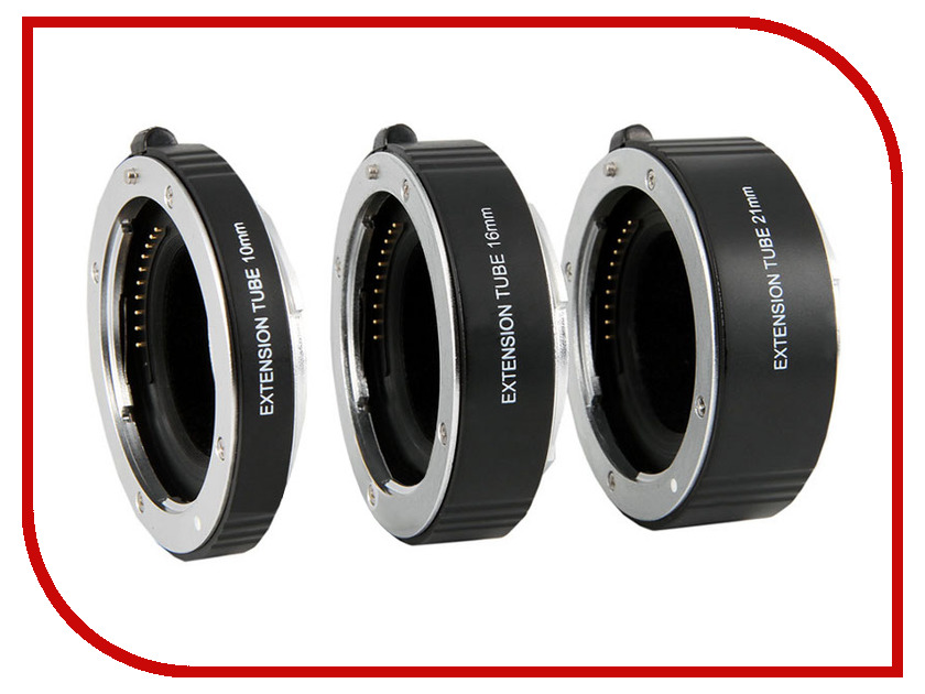 Кольцо Flama FL-E47A AF Extension Tube Kit for Sony E NEX