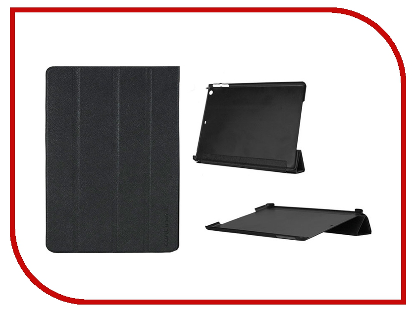 Аксессуар Чехол Continent for iPad Air Black IP-50