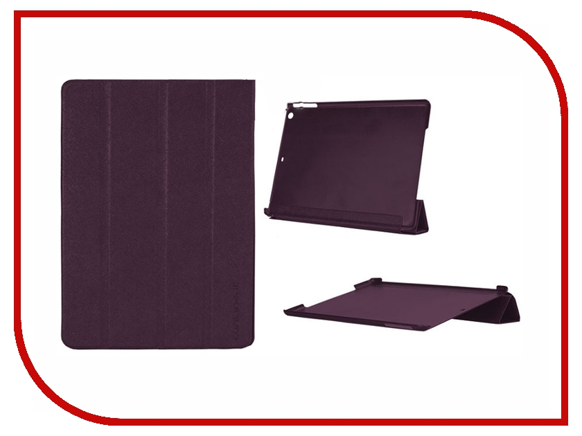 Аксессуар Чехол Continent for iPad Air Violet IP-50<br>
