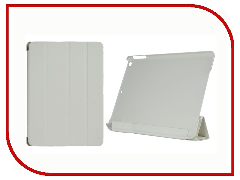Аксессуар Чехол Continent for iPad Air White IP-50<br>