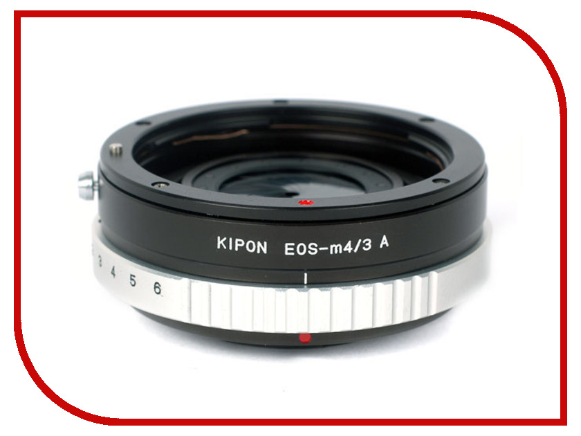 Кольцо Kipon Adapter Ring with aperture Canon EOS - Micro 4/3 кольцо kipon adapter ring m42 nikon f