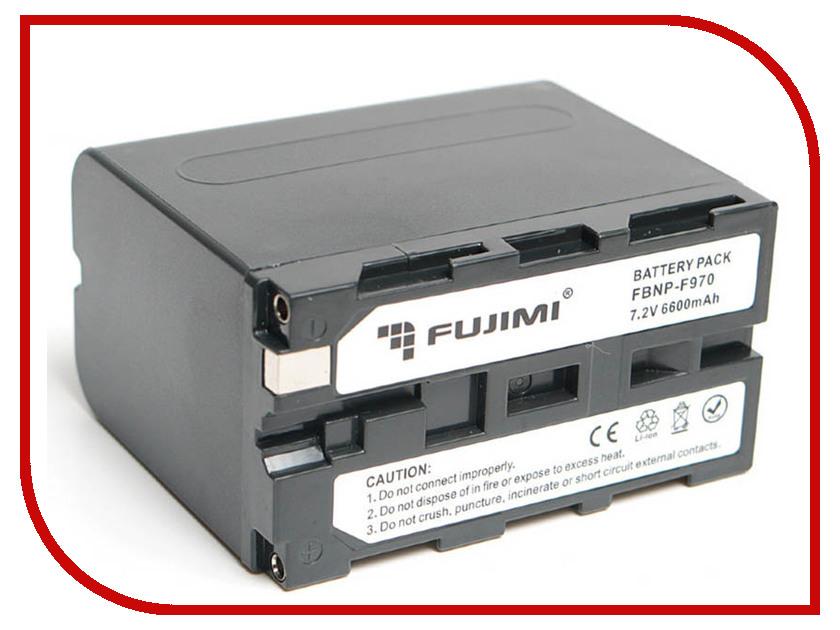 Аккумулятор Fujimi NP-F960/F970 np f960 f970 6600mah battery for np f930 f950 f330 f550 f570 f750 f770 sony camera