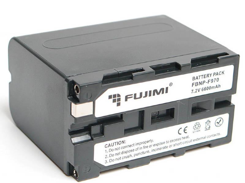 Фото - Аккумулятор Fujimi FBNP-F970 для Sony внешний аккумулятор power bank 13000 мач buro ra 13000 qc3 0 черный