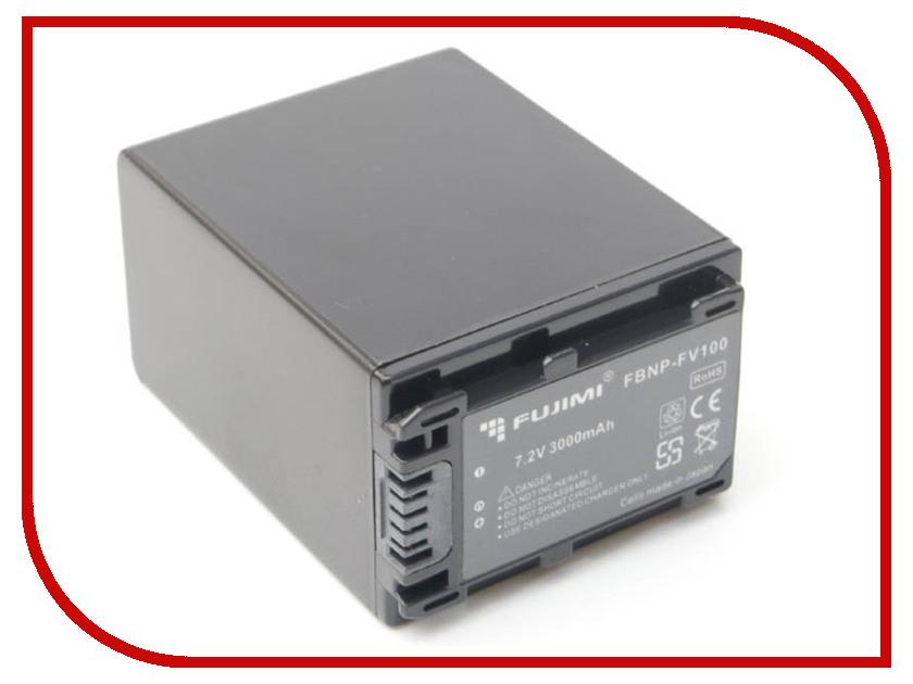 Аккумулятор Fujimi NP-FV100 аккумулятор fujimi np bk1