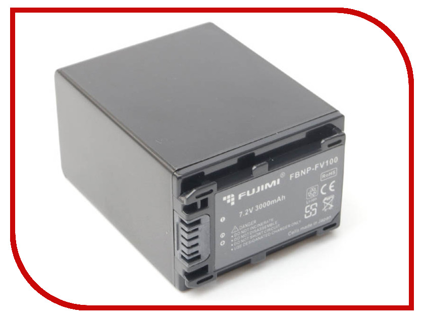 Аккумулятор Fujimi NP-FV100