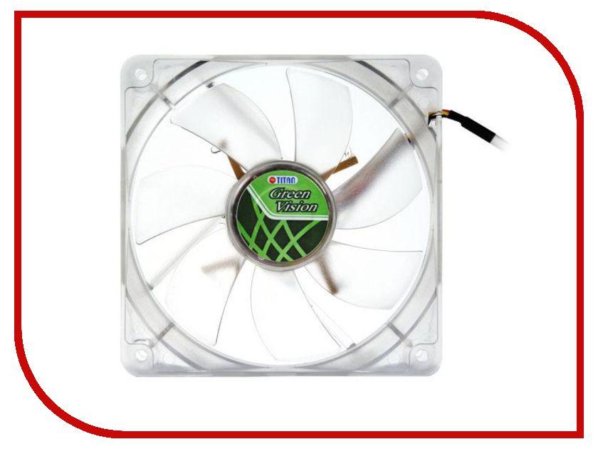 Вентилятор TITAN TFD-9225GT12Z вен тор titan tfd 9225gt12z green vision 1200rpm 92x92x25 z axis