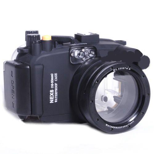 Аквабокс Meikon NEX-6 for Sony NEX-6 Kit 16-50 mm