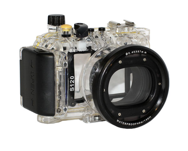 Аквабокс Meikon S120 для Canon S120
