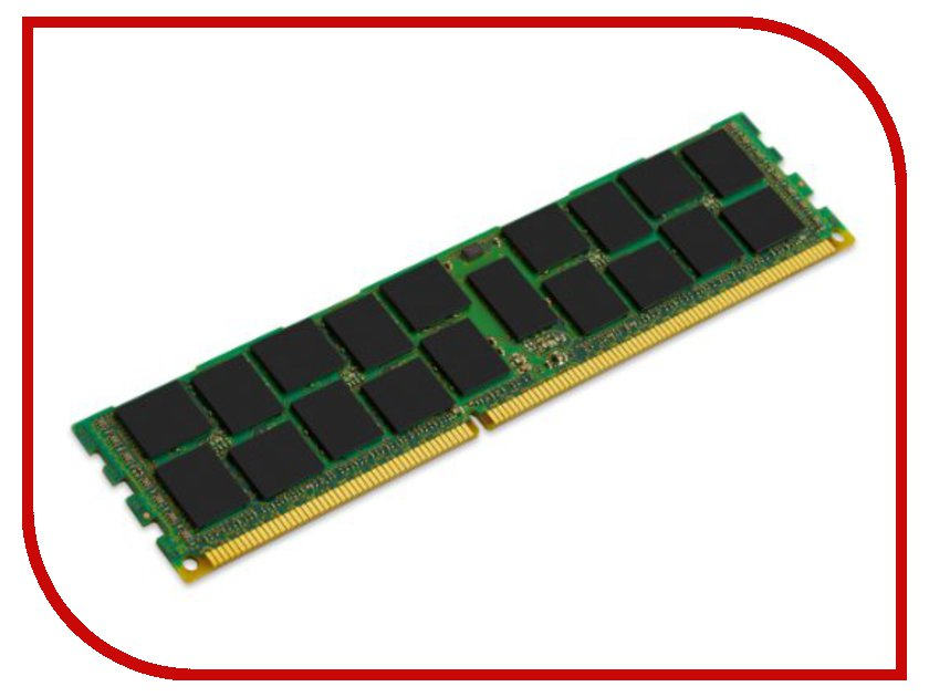 Модуль памяти Kingston DDR3 DIMM 1600MHz PC3-12800 ECC Reg CL11 - 16Gb KVR16R11D4/16<br>