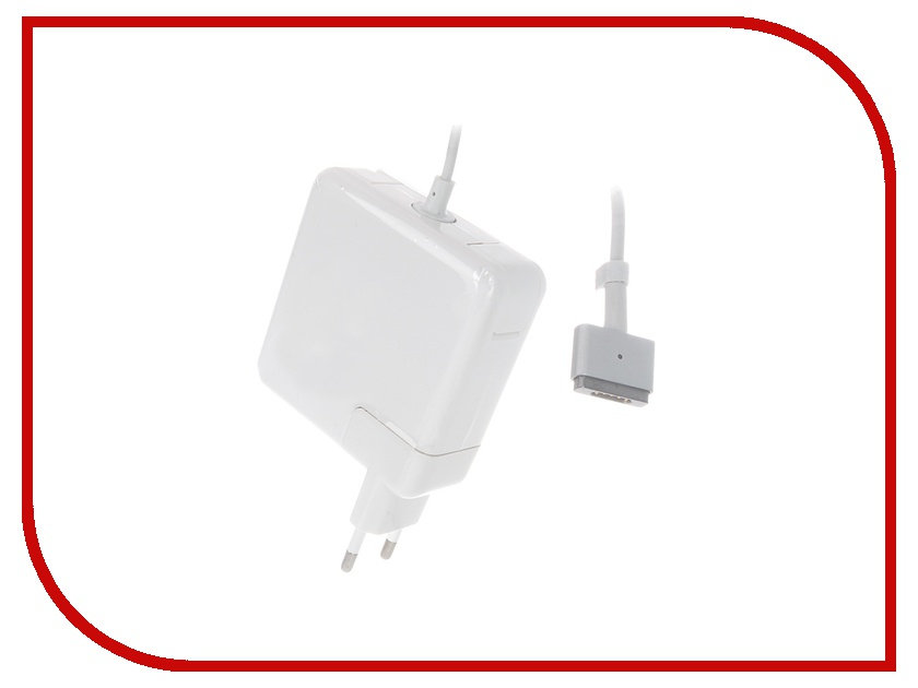 Аксессуар Блок питания TopON TOP-AP203 16.5V 60W для MacBook Air 2012 / Pro Retina Magsafe 2 аксессуар topon top ap204 18 5v 85w for macbook air 2012 pro retina magsafe 2