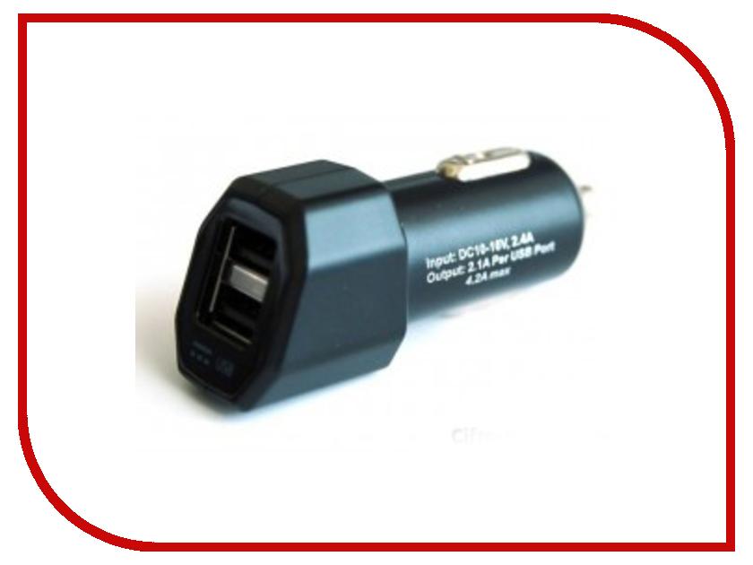 Зарядное устройство AcmePower AP AV-24 2xUSB универсальное