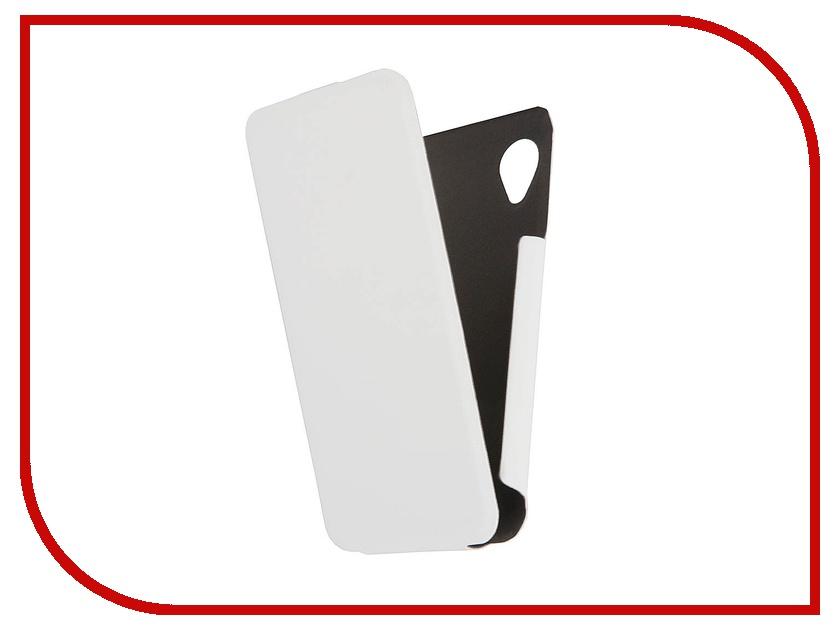 Аксессуар Чехол Lenovo P770 Scobe Leather Edition White