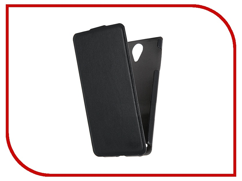 Аксессуар Чехол Lenovo S890 Scobe Leather Edition Black цена